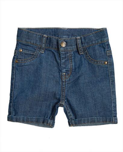 Short en jeans bleu